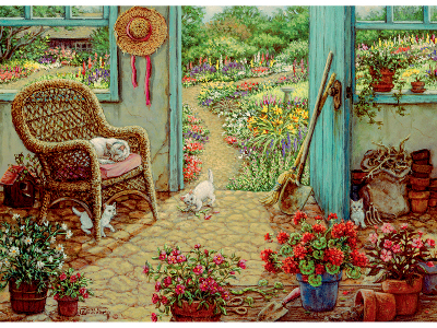 THE POTTING SHED 1000pc