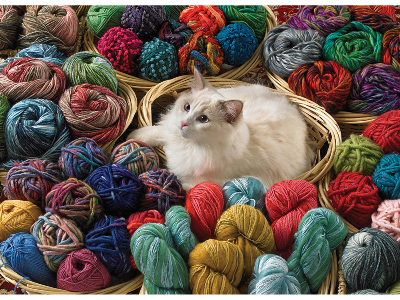 FUR BALL 1000pc