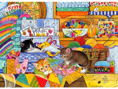 CRAFT KITTENS 1000pcs