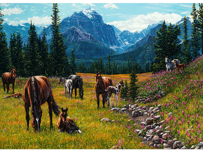 HORSE MEADOW 1000pc