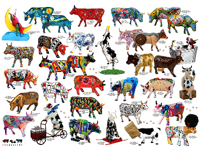 COW PARADE 1000pcs