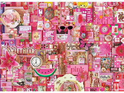 RAINBOW PROJECT 1000pc PINK