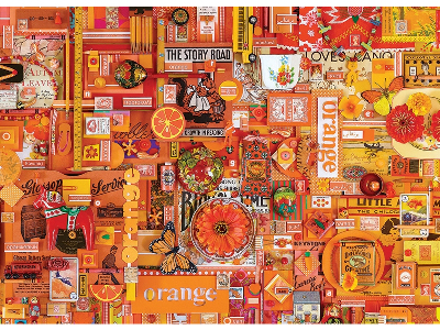 RAINBOW PROJECT 1000pc ORANGE