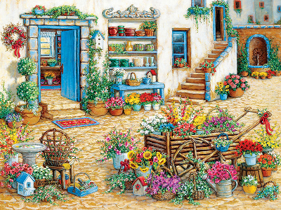 FANCY FLOWER SHOP 275pc*LgePc*