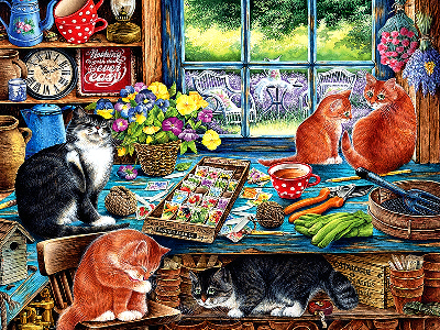 CATS RETREAT 500pc