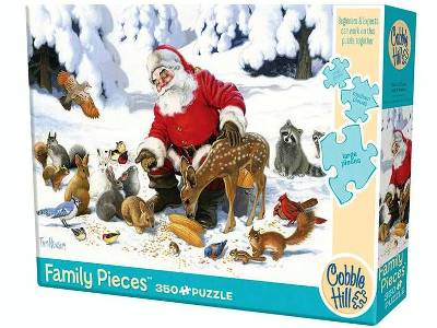 SANTA CLAUS & FRIENDS 350pcs