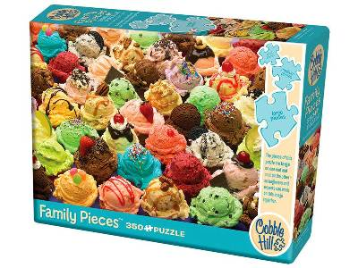 MORE ICE CREAM 350pc *Family*