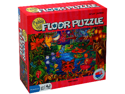 FAIRY FOREST 36pc FLOOR PUZZLE