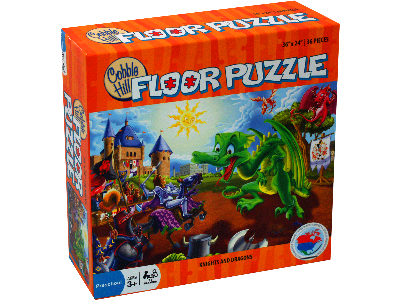 KNIGHTS & DRAGONS 36pc FLR.PZ.