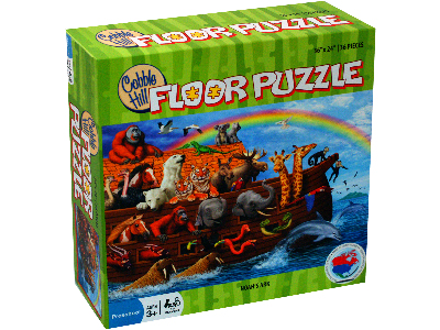 NOAH'S ARK 36pc FLOOR PUZZLE