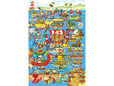 BOAT RACE 60pc CHILDREN'S