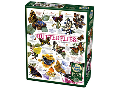 BUTTERFLY COLLECTION 1000pc
