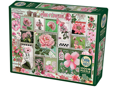 PINK FLOWERS 1000pc