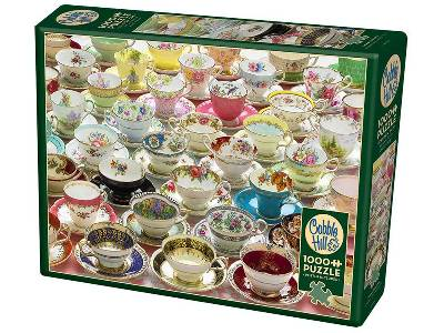 MORE TEACUPS 1000pc