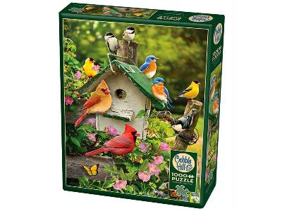 SUMMER BIRDHOUSE 1000pc