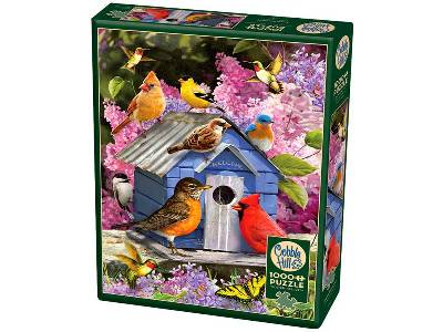 SPRING BIRDHOUSE 1000pc