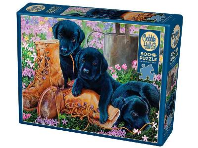 TROUBLE IN THE GARDEN 500pc