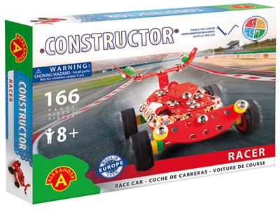 RACER RACING CAR 166pc