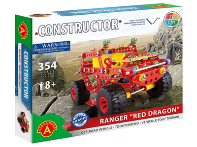 RANGER RED DRAGON 354pc