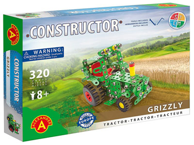 GRIZZLY TRACTOR 320pc