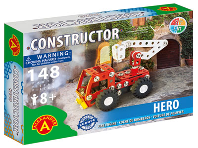HERO FIRE ENGINE 148pc