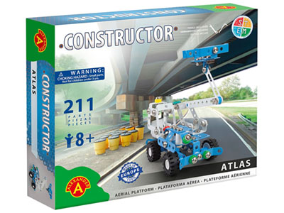 ATLAS PLATFORM TRUCK 211pc