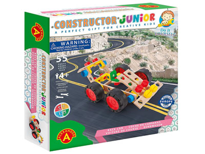 JUNIOR, RACING CAR 55pc