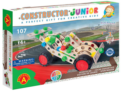 JUNIOR SPORTSCAR 3-in-1 107pc