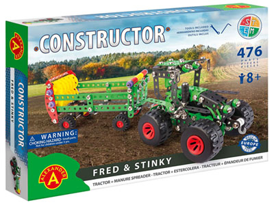 FRED & STINKY TRACTOR SET 476p