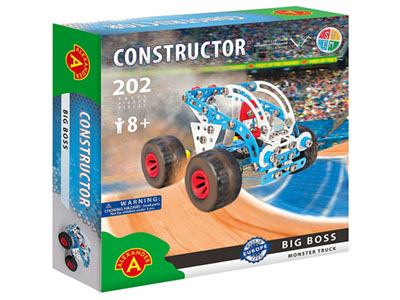 BIG BOSS TRUCK 202pc