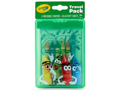 CRAYOLA TRAVEL PACK CRAYONS