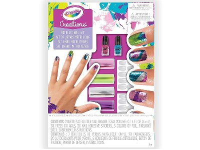 CREATIONS METALLIC NAIL KIT