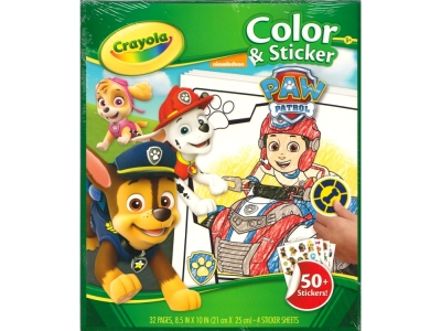 PAW PATROL COLOR & STICKER
