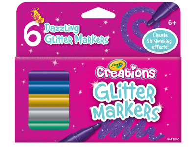 CREATIONS GLITTER MARKERS