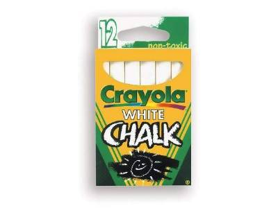 CHALK WHITE STICK TUCK BOX(12)