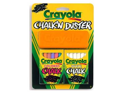 CHALK 'N' DUSTER BLISTER PACK