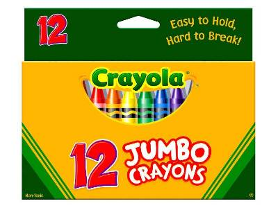 MY FIRST CRAYONS (PACK OF 12)