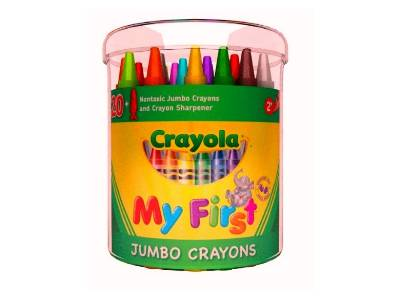 MY FIRST JUMBO CRAYONS (24)