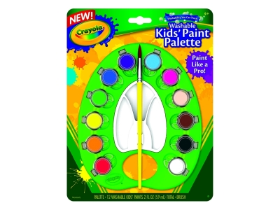 WASHABLE KIDS' PAINT PALETTE