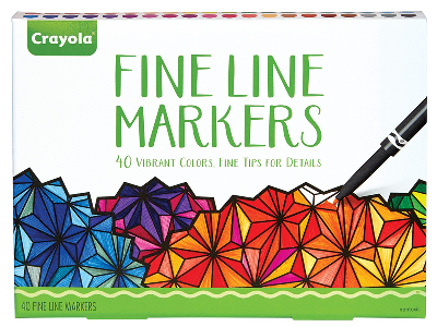 FINE LINE MARKERS (40)