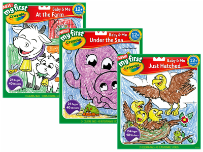 BABY & ME STICKER BOOK ASTD