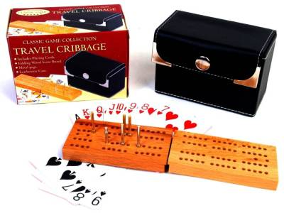 CRIBBAGE, TRAVEL WOOD