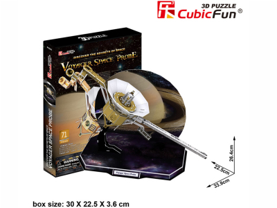 3D PUZZLE VOYAGER SPACE PROBE