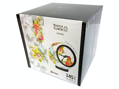 PUZZLE CLOCK FRAGRANT FLOWERS