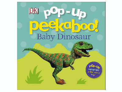 POP-UP PEEKABO BABY DINOSAUR