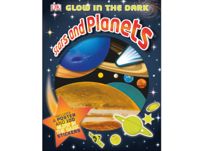 GLOW IN THE DARK STARS PLANETS