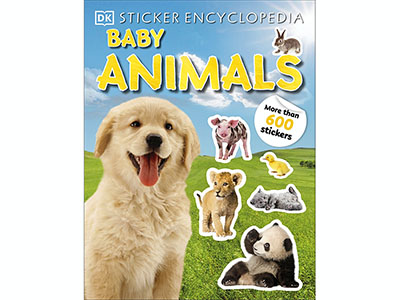 BABY ANIMALS STICKER ENCYCLOPE
