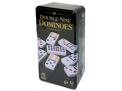 DOMINOES D9 COLOR DOT(Cardinal