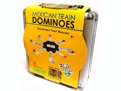MEXICAN TRAIN DOMINOES D12 GL