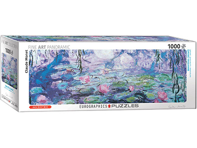 MONET, WATERLILIES panorama